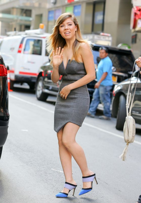 Jennette McCurdy Style - at the Today Show in NYC, June 2015