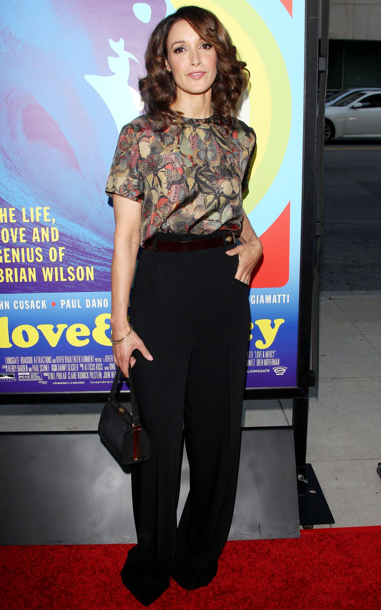 Jennifer Beals Love Amp Mercy Premiere In Los Angeles