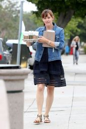Jennifer Garner - Coffee Run in Brentwood, June 2015