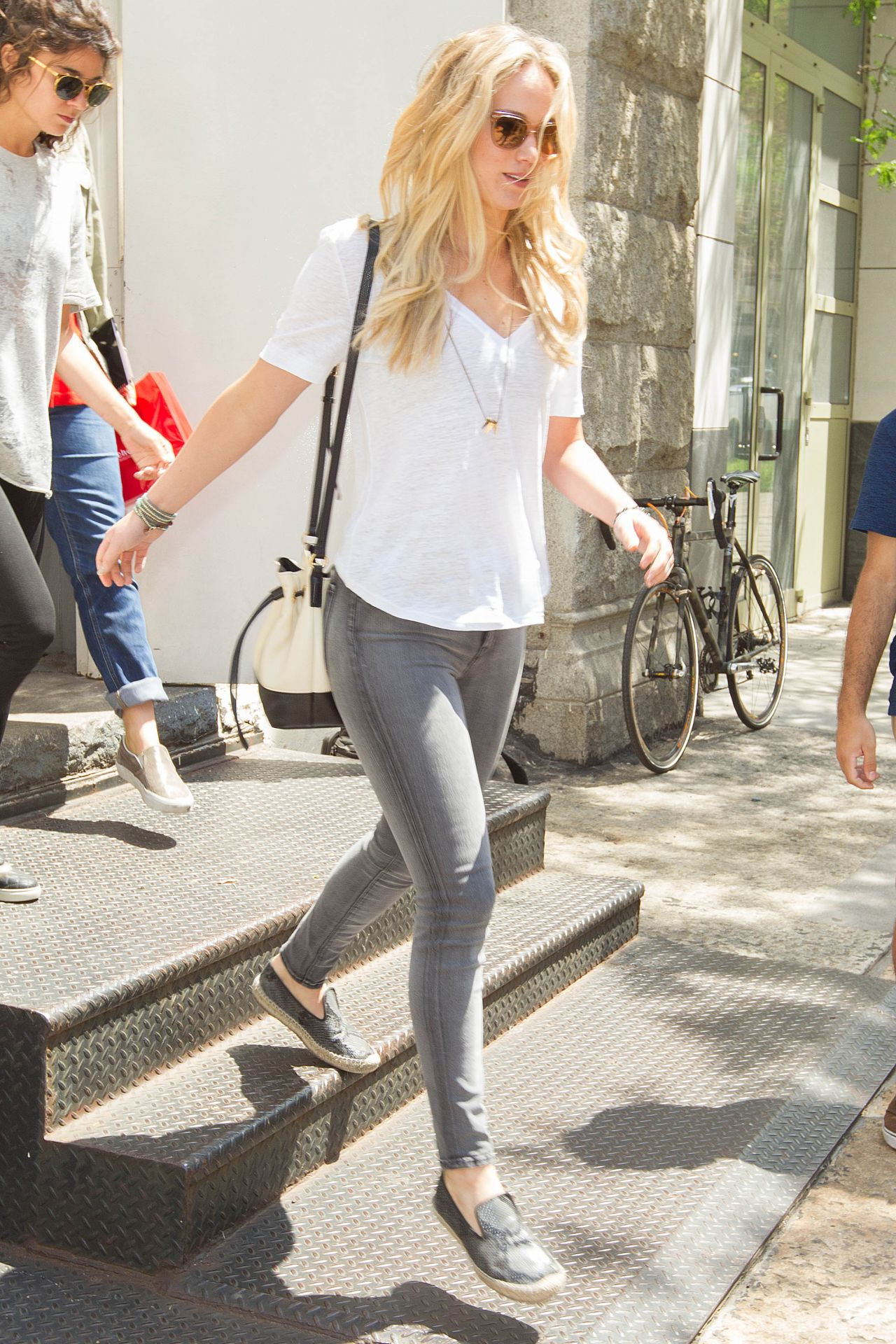 Jennifer Lawrence Casual Style New York City June 2015