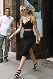 Jennifer Lawrence Style - Leaving Her Hotel in New York City, June 2015