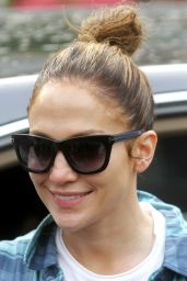 Jennifer Lopez Street Style - New York City, June 2015