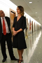 Jessica Alba at Capitol Hill in Washington, D.C. - June 2015
