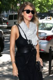 Jessica Alba Out in NYC, June 2015