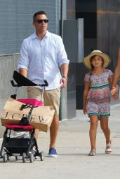 Jessica Alba - Out With Her Family in New York City, June 2015