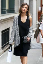 Jessica Alba - Shopping in NYC, June 2015