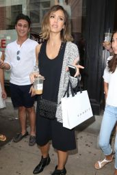 Jessica Alba - Shopping in NYC, June 2015