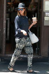 Jessica Alba Street Style - NYC, June 2015