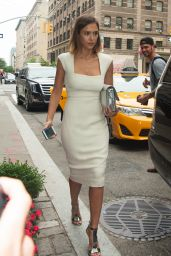 Jessica Alba Style - Leaving Her Hotel in NYC, June 2015