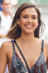 Jessica Alba Summer Style - NYC, June 2015