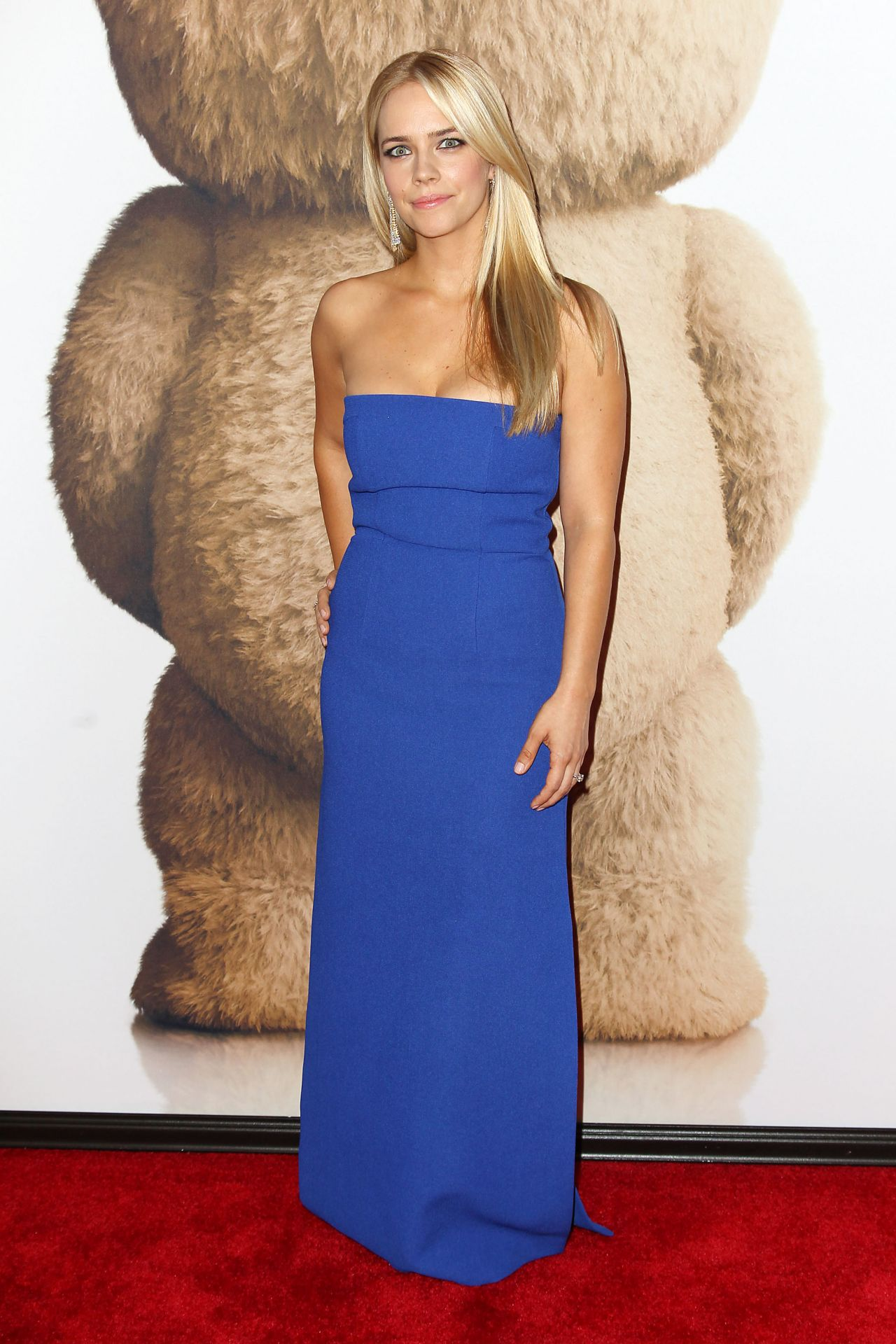 Jessica Barth Ted 2 Premiere In New York City
