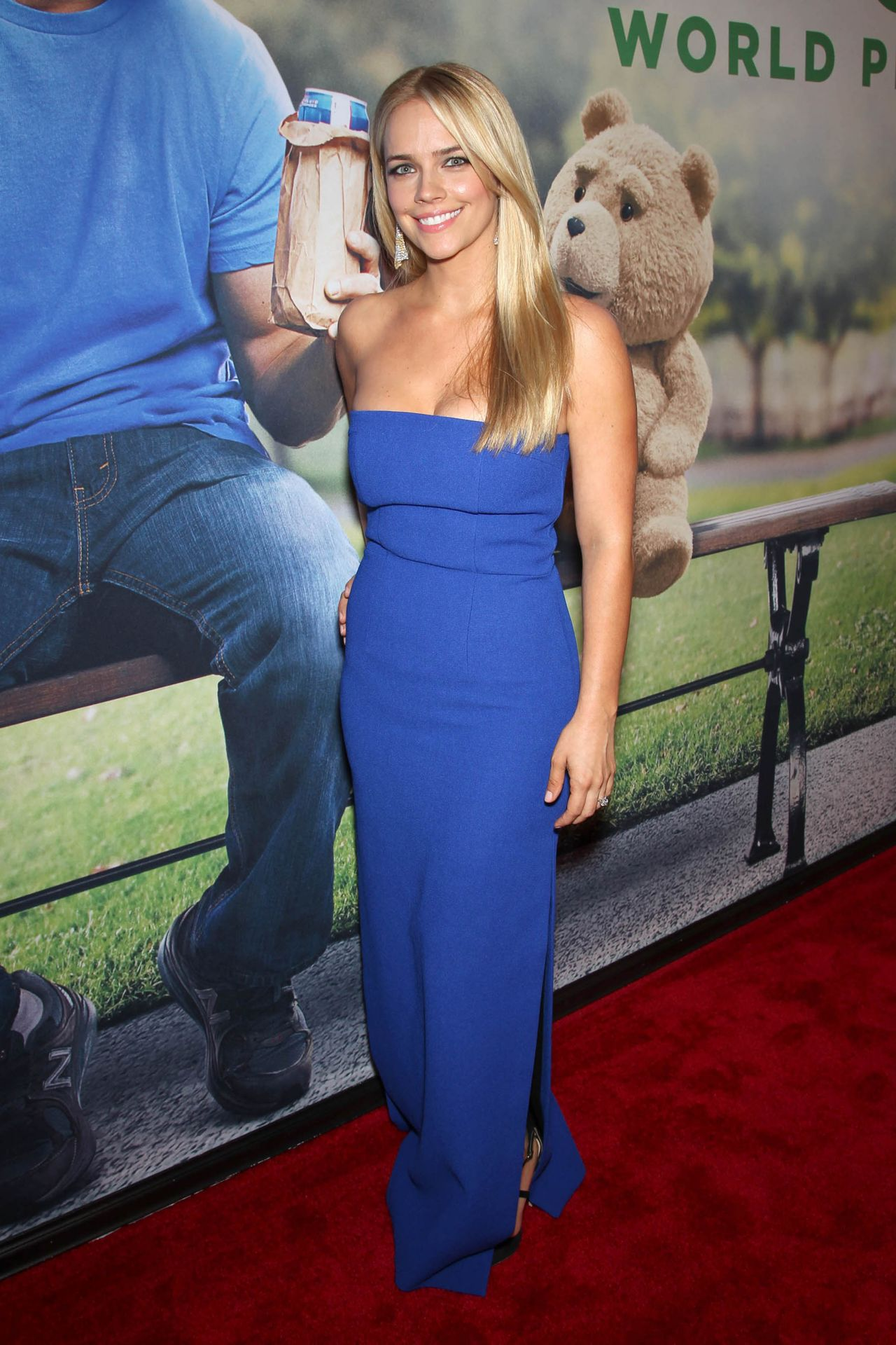 Jessica Barth Ted 2 Premiere In New York City