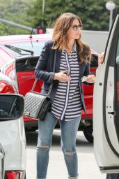 Jessica Biel at the CAA Offices in Century City, June 2015