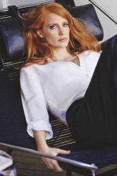 Jessica Chastain - InStyle Magazine (UK) July 2015 Issue