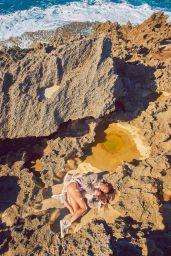 Joan Smalls - Photoshoot for Porter Magazine Summer Escape 2015
