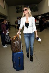 Joanna Krupa at LAX Airport, June 2015