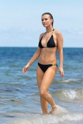 Joanna Krupa in a Bikini at the Beach in Miami, June 2015