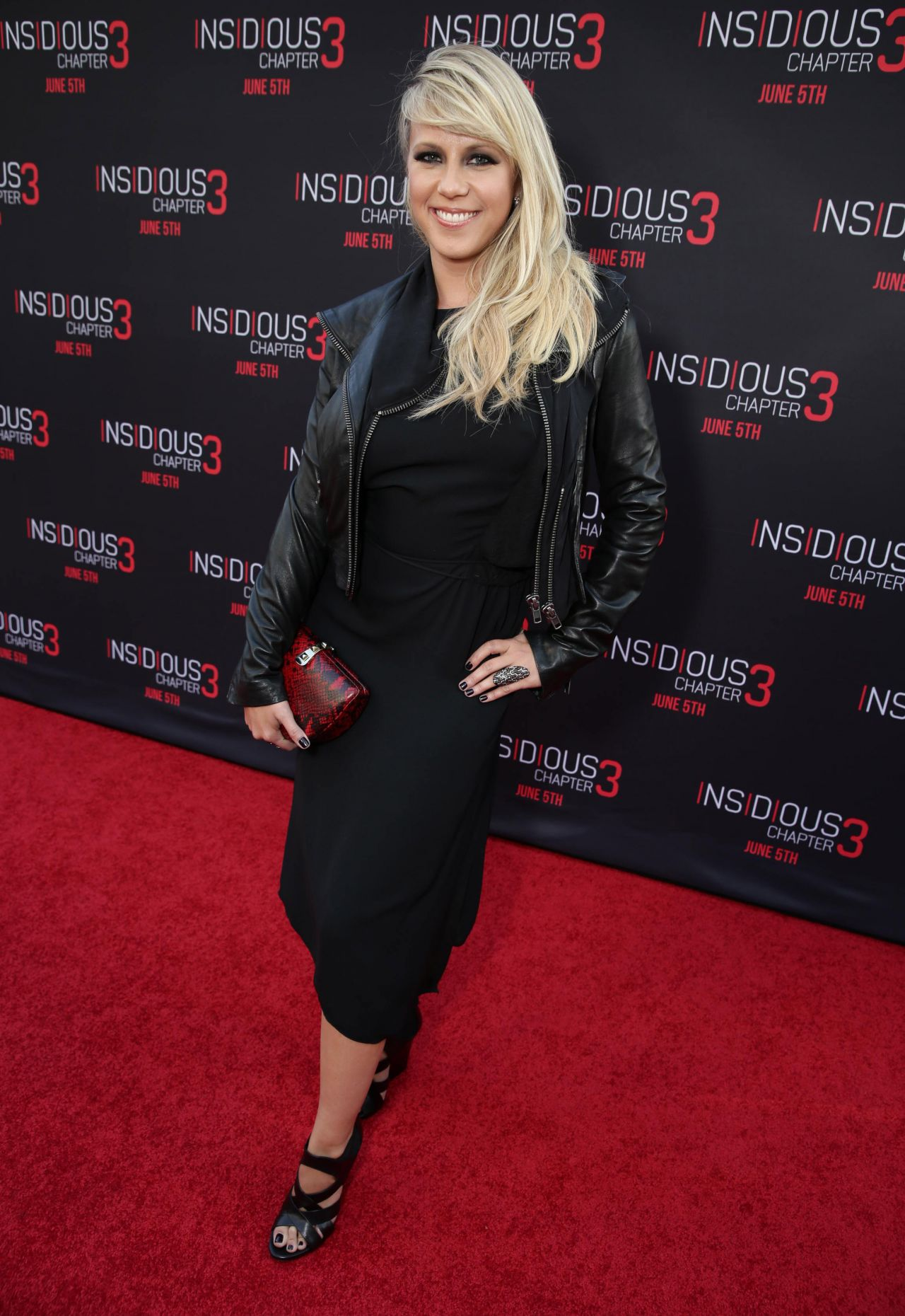 Jodie Sweetin  Insidious Chapter 3 Premiere In Hollywood-8116