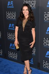 Julia Louis-Dreyfus – 2015 Critics Choice Television Awards in Beverly Hills