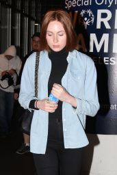 Karen Gillan - LAX Airport, May 2015