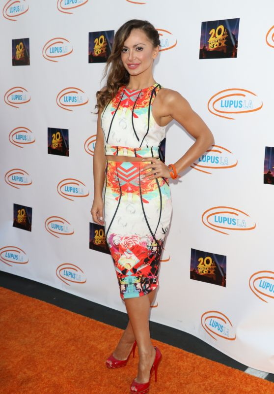 Karina Smirnoff - Lupus LA Orange Ball And A Night Of Superheroes in Century City, June 2015