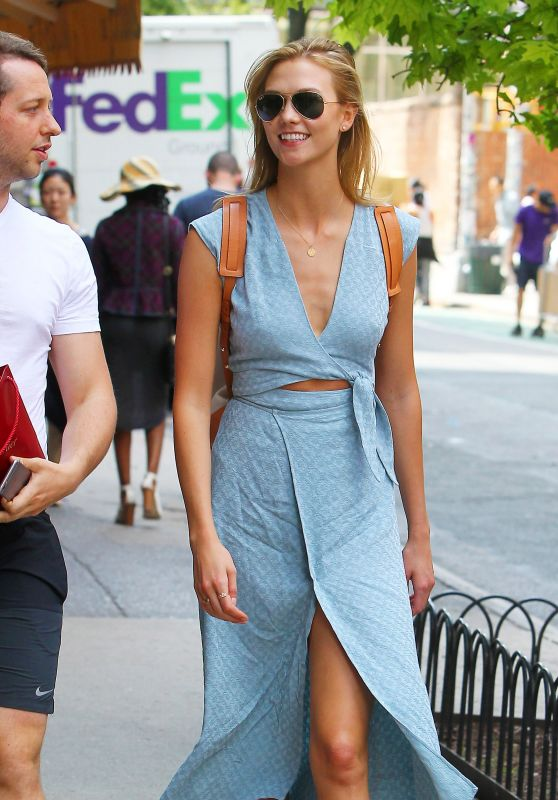 Karlie Kloss Summer Style - NYC, June 2015