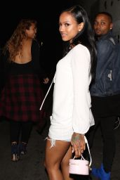 Karrueche Tran - Arriving at Playhouse Night Club in Los Angeles, June 2015