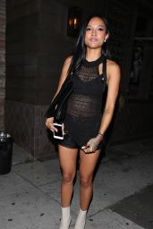 Karrueche Tran Night Out Style - Los Angeles, June 2015