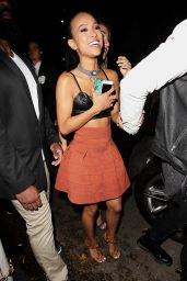 Karrueche Tran - Outside Warwick Nightclub, June 2015