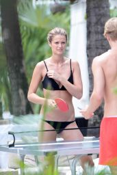 Kate Bock Bikini Candids - Miami - June 2015