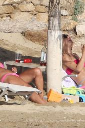 Kate Hudson Bikini Candids - Beach in Greece, June 2015