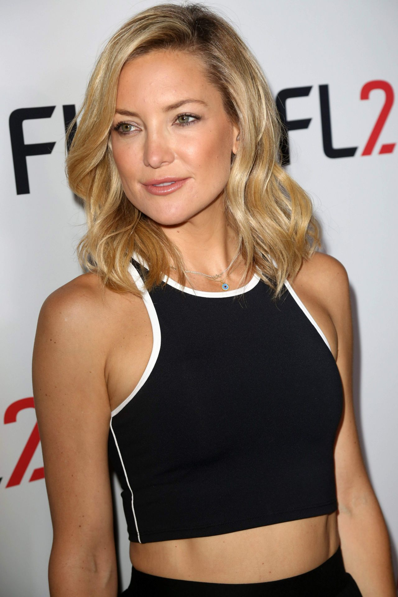 Kate Hudson Fl2 Mens Active Wear Collection Launch In Ny