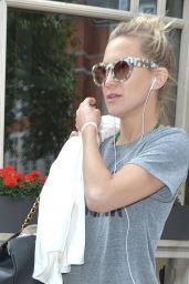 Kate Hudson - Leaving Her Hotel in London, June 2015