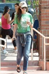 Katie Holmes - Getting Coffee in Los Angeles, June 2015