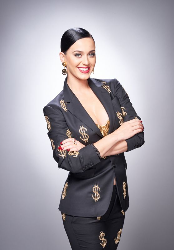 Katy Perry - Photoshoot for Forbes Magazine July 2015