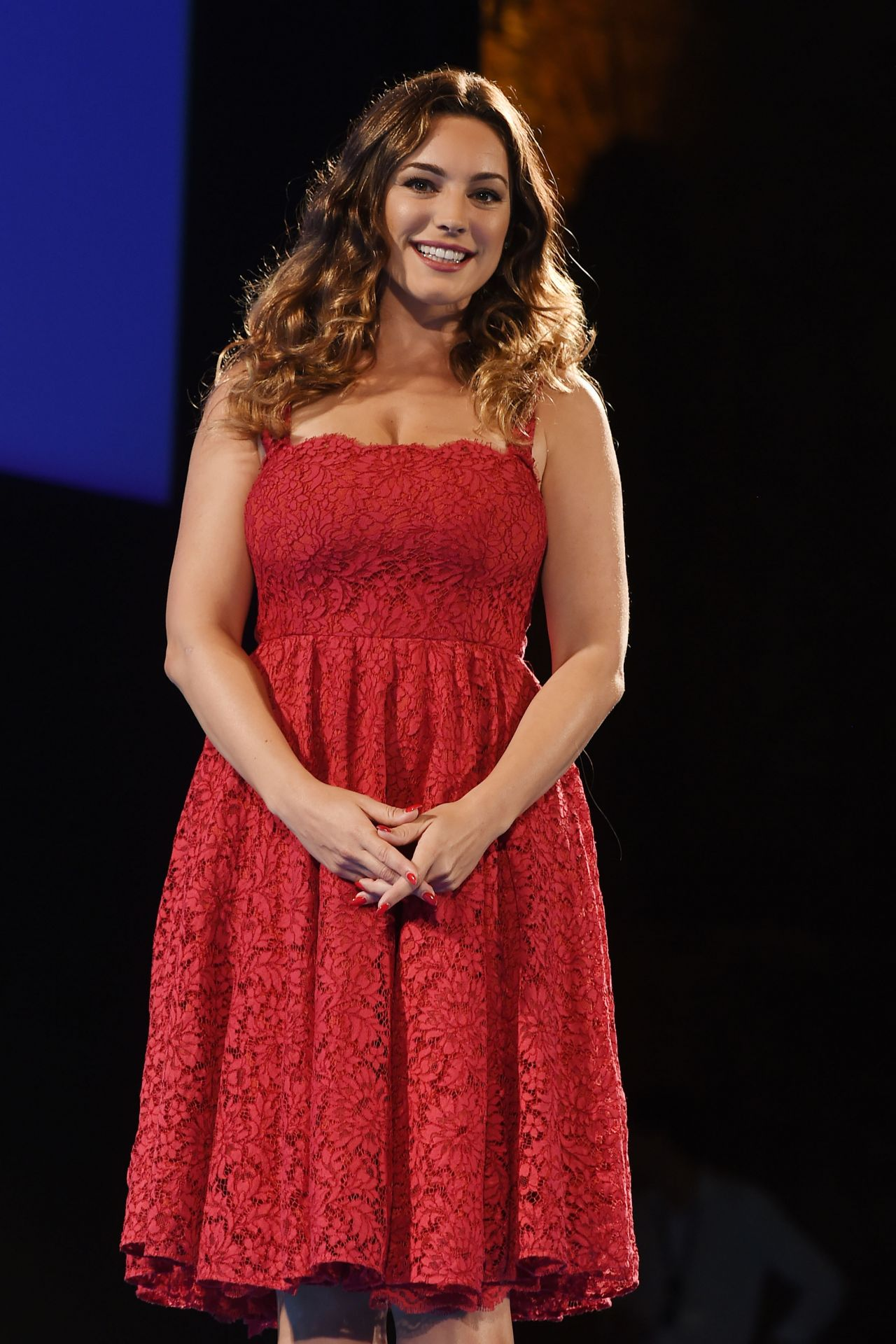 Kelly Brook 2015 Taormina Film Fest Day 4 In Taormina Italy