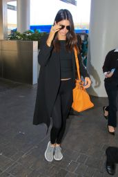 Kendall Jenner Airport Fashion - LAX, June 2015
