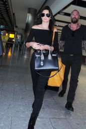 Kendall Jenner Airport Style - London Heathrow Airport, June 2015