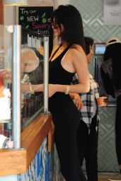 Kendall Jenner and Kylie Jenner in Tights - Beverly Hills, June 2015