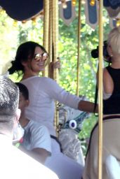 Kendall Jenner – Disneyland for North West's 2nd Birthday in Anaheim
