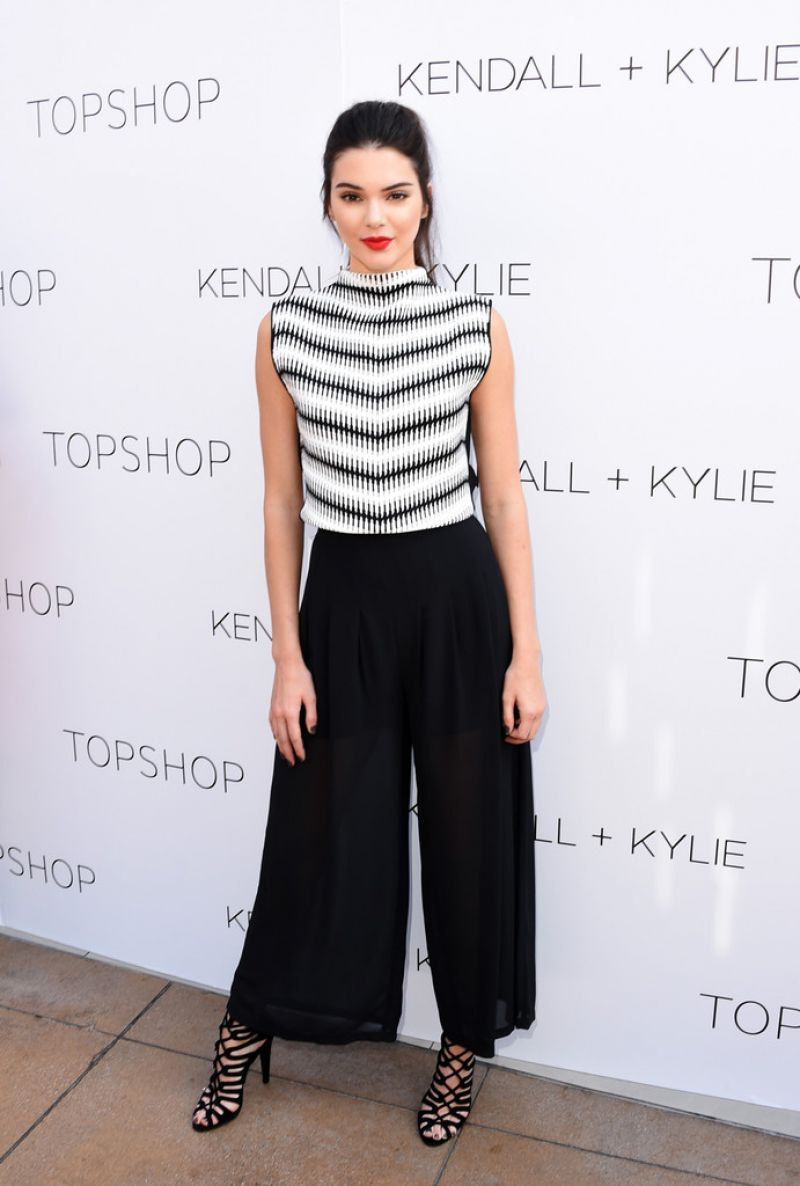 Kendall Jenner - Launch Party for the Kendall + Kylie Fashion Line at TopShop in LA, June 2015