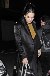 Kendall Jenner - Leaving
