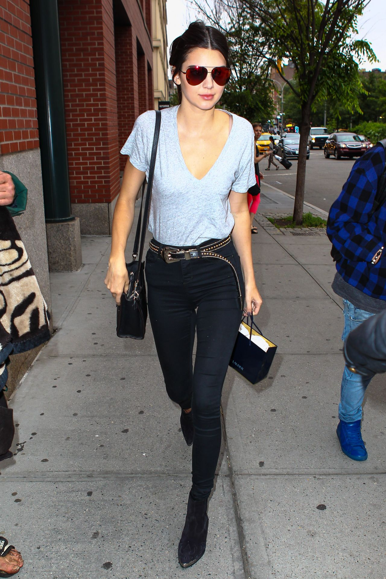 Kendall Jenner Street Style New York City June 2015