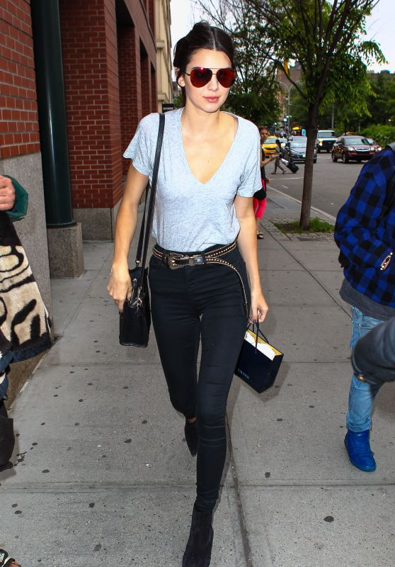 Kendall Jenner Street Style - New York City, June 2015