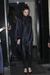Kendall Jenner Style - Leaving Kinu Japanese Restaurant in Paris, June 2015