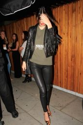 Kendall Jenner Style - Leaving The Nice Guy in West Hollywood, June 2015
