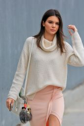 Kendall Jenner Style - Out in Los Angeles, June 2015