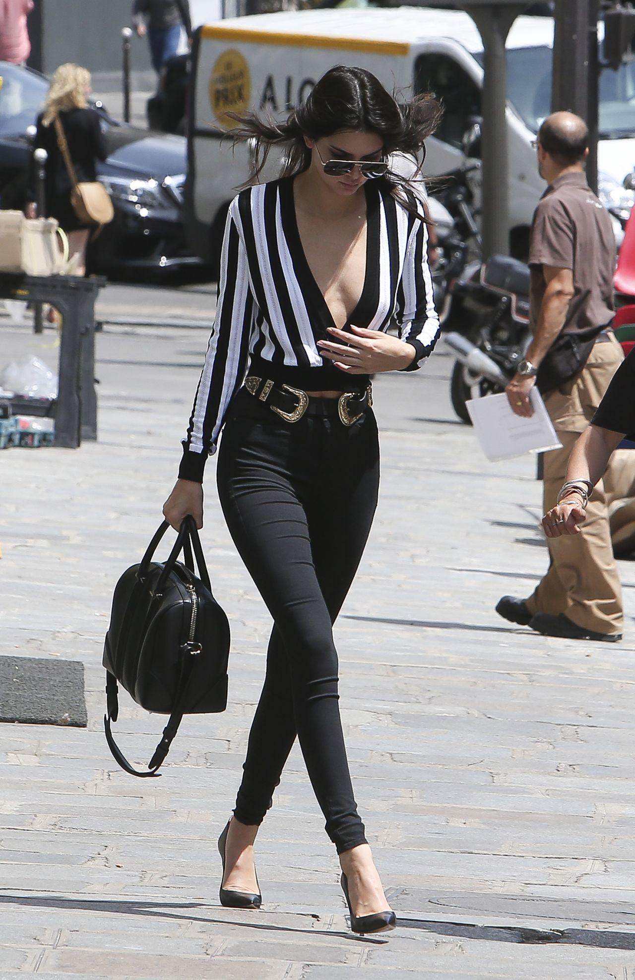 Kendall Jenner Summer Style Paris June 2015