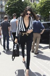 Kendall Jenner Summer Style - Paris, June 2015