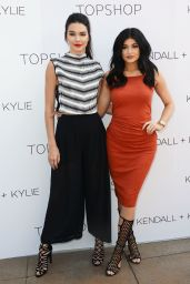Kendall & Kylie Jenner – Launch Party for the Kendall + Kylie Fashion Line at TopShop in LA, June 2015